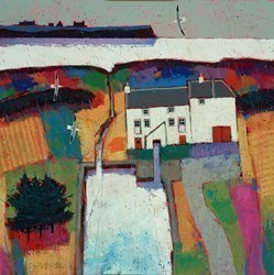 Milland Pond by David Body -  sized 20x20 inches. Available from Whitewall Galleries